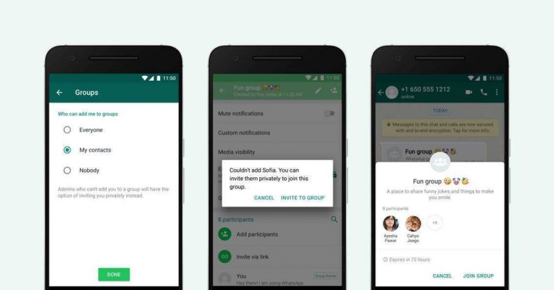 WhatsApp finally lets you prevent people from adding you to