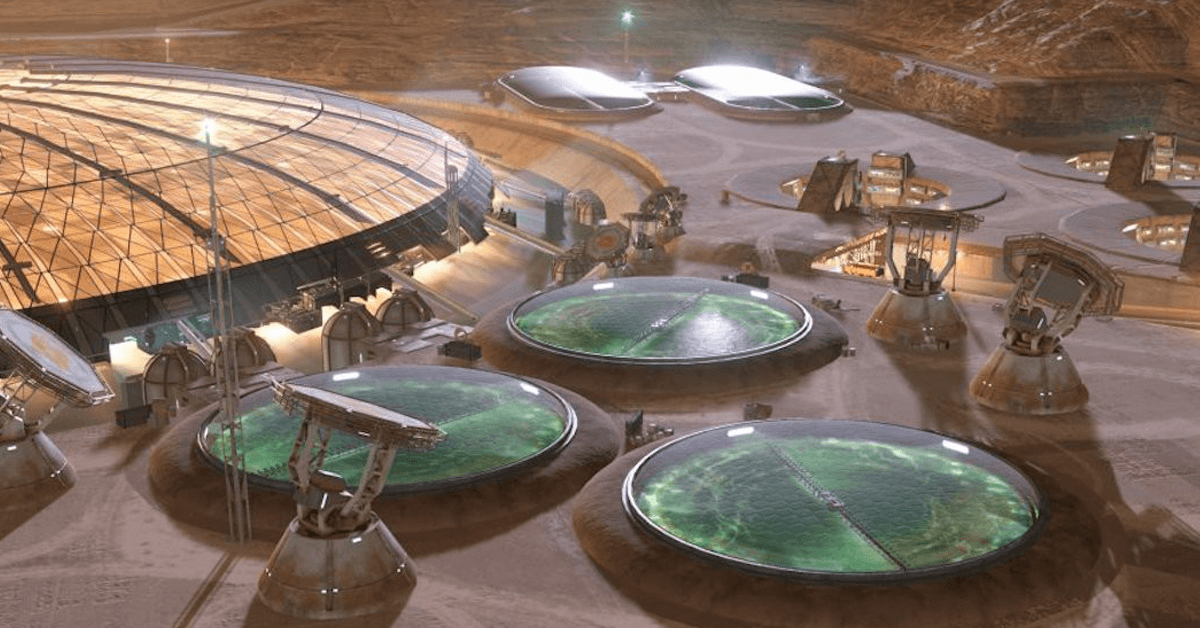 Game developers help NASA imagine what life in space will look like