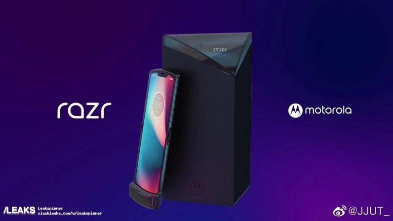 The new Motorola Razr looks tiny when folded, according to this video