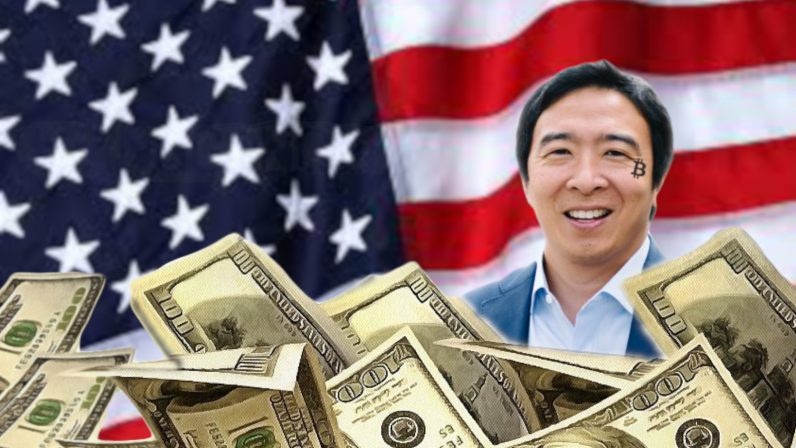 US presidential candidate Andrew Yang wants to fix 'confusing' cryptocurrency regulations (and give $1,000 to everyone)