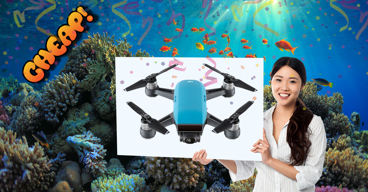 CHEAP: Fly high with $350 off this DJI Spark drone