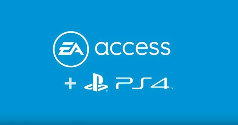 EA Access coming to PS4 in July