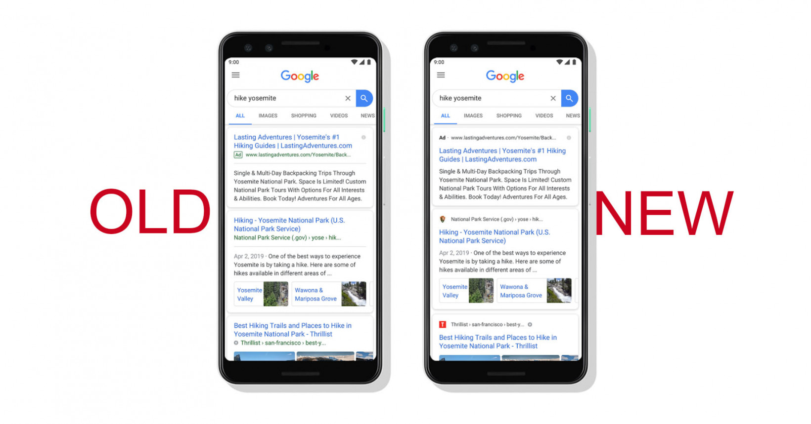 Google Search has a new look; come spot the difference
