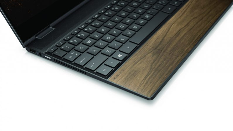HP's Envy laptops get a sexy new wood option