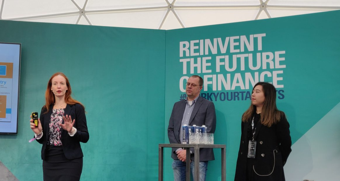 L-R: Jill Coster van Voorhout (UvA), Jeroen Hermens (Netherlands Ministry of Social Affairs and Employment), and Raila Abas (ABN AMRO)