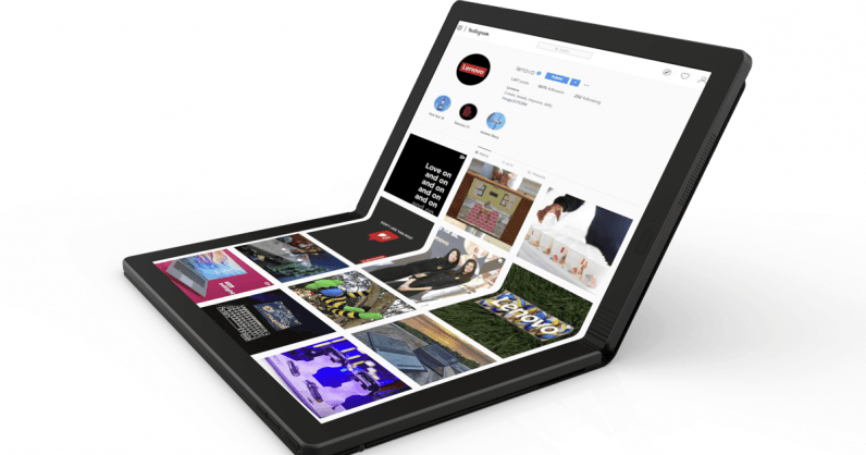 Lenovo unveils the world's first 'foldable PC' and I'm actually kinda excited
