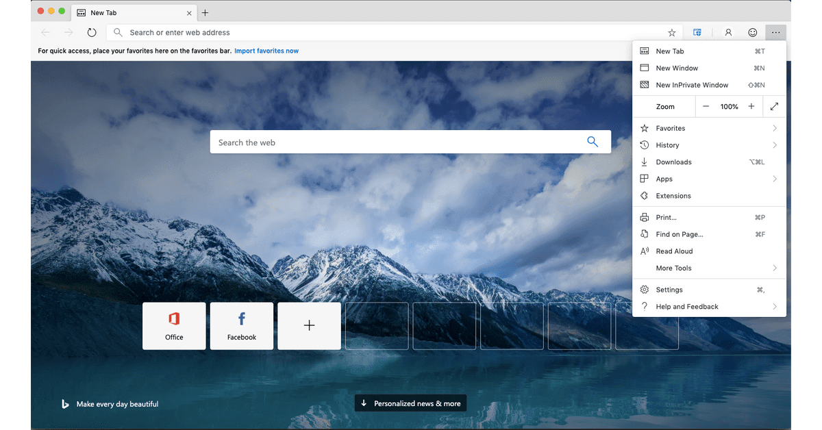 You can try Microsoft Edge for macOS right now