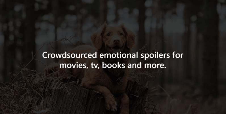 Calling all pet lovers: This website warns you of dog deaths in movies