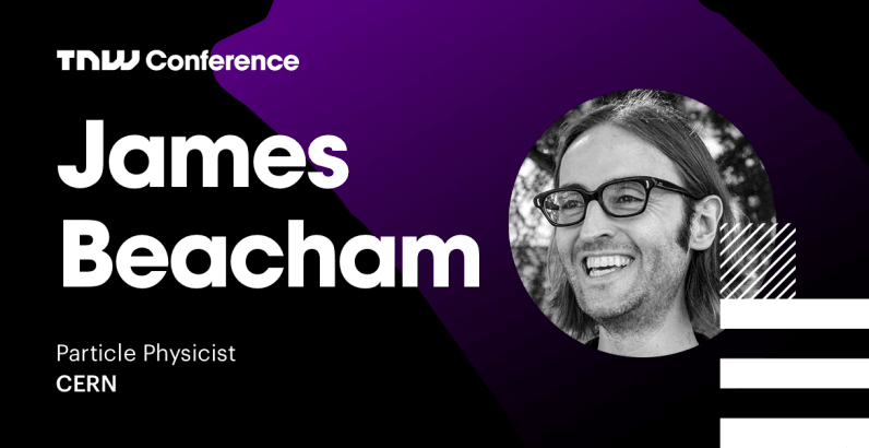 CERN particle physicist James Beacham live interview at TNW2019 – tune in now!