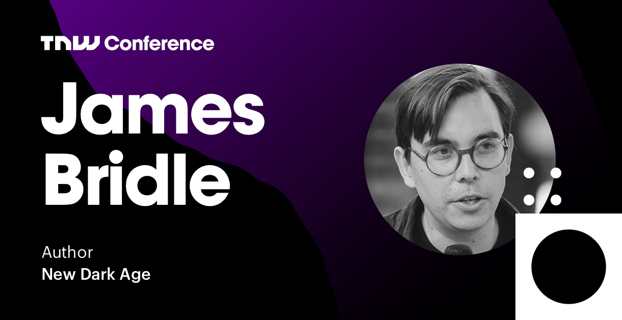 James Bridle is live at TNW2019 – tune in now!