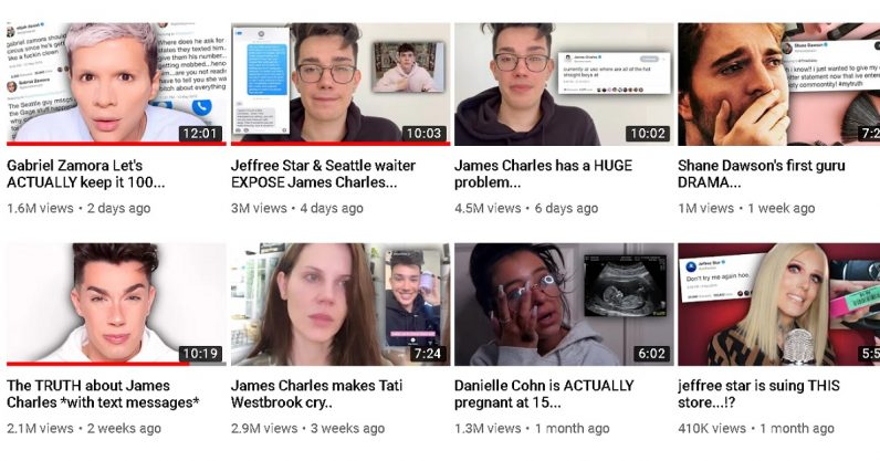 Here's the real tea: A primer on YouTube drama channels
