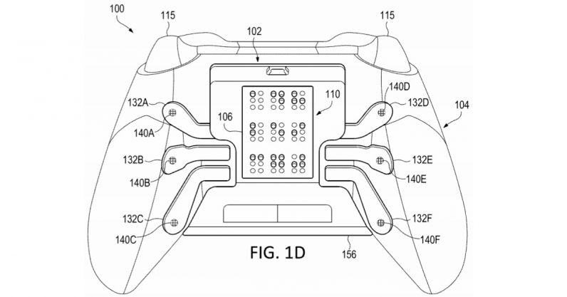 Microsoft files patent for controller with Braille readout