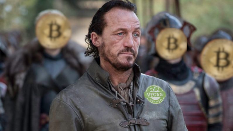 Game of Thrones' Bronn becomes Master of VeganCoin cryptocurrency (we shit you not)