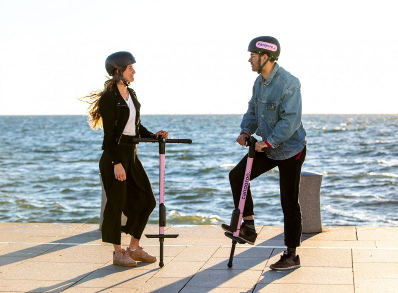 The CEO of pogo stick-sharing startup Cangoroo insists his company isn't a hoax
