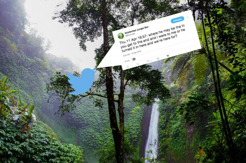 A Twitter bot that translates jungle sounds to existential questions might just help save the rainforest ...