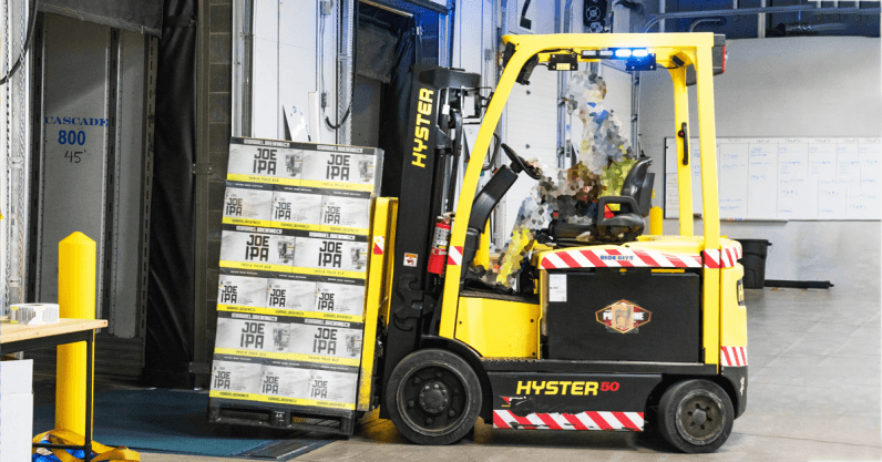 Driverless cars are years away, but self-driving forklifts have arrived