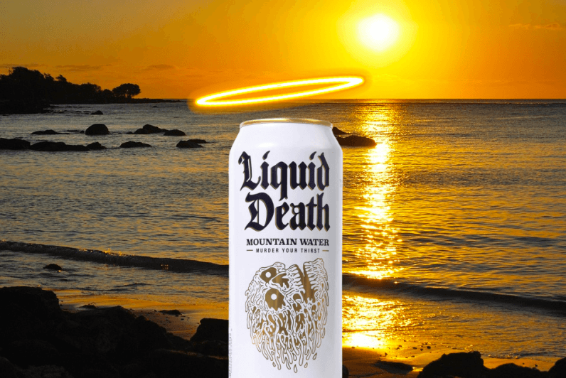 The Internet is wrong about Liquid Death, the controversial 'punk rock' canned water