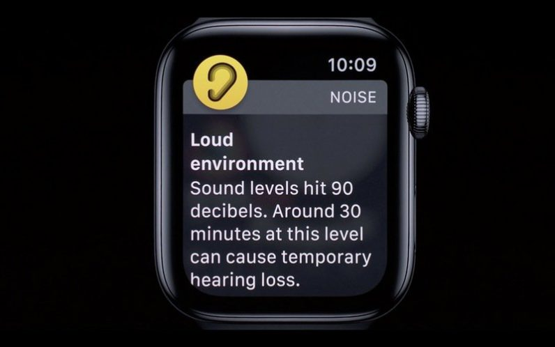 The Apple Watch is getting a noise detection app to save