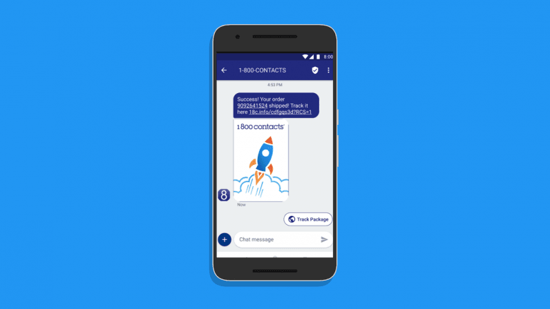 Google is rolling out RCS messaging without waiting for
