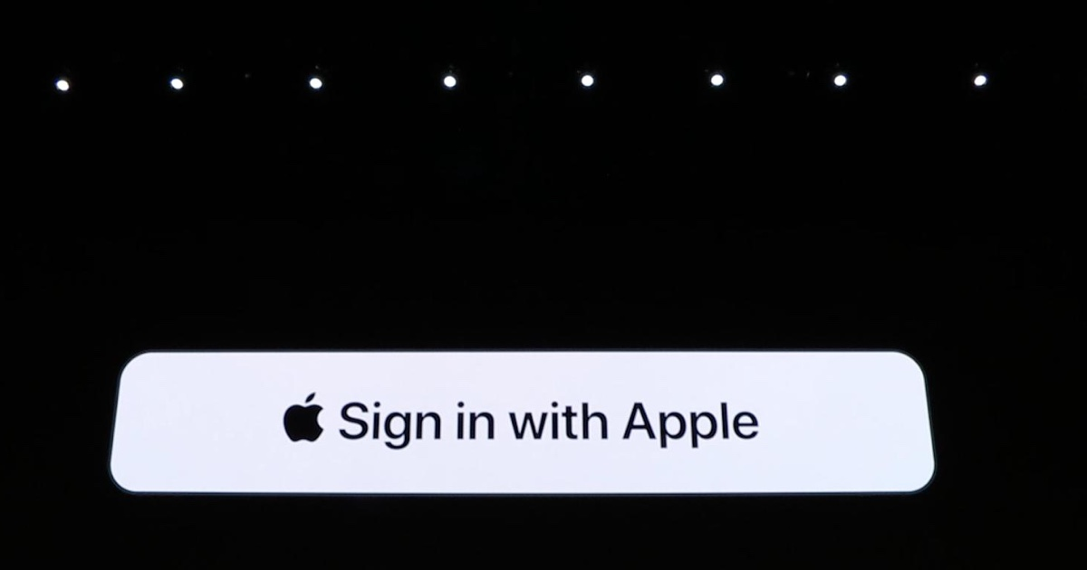 Apple introduces privacy-focused 'Sign in with Apple' button for sites and apps