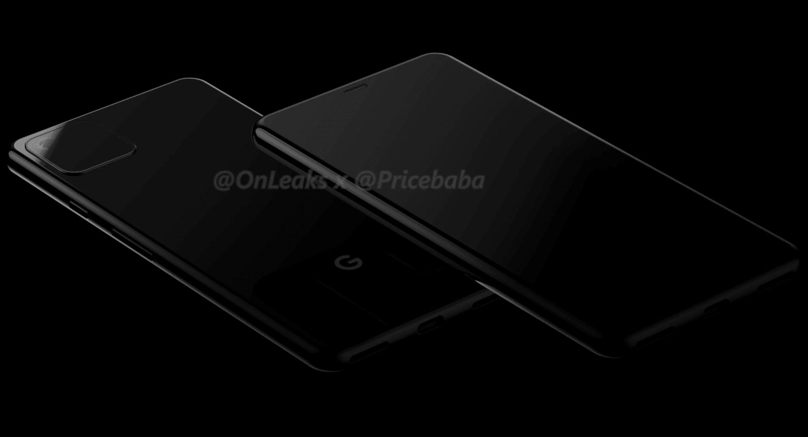 Leak: Pixel 4 renders suggest Google is finally using multiple cameras