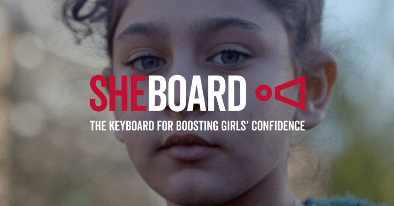 This keyboard app spell-checks gender bias to challenge how we talk to girls
