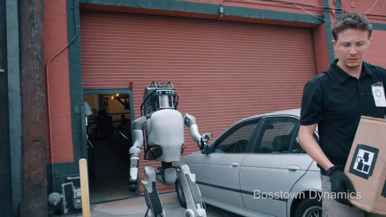 Hilarious robot revenge video parodies Boston Dynamics