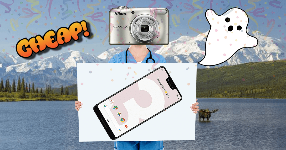 CHEAP: Photograph your loved ones' SOULS with $200 off the Google Pixel 3 XL