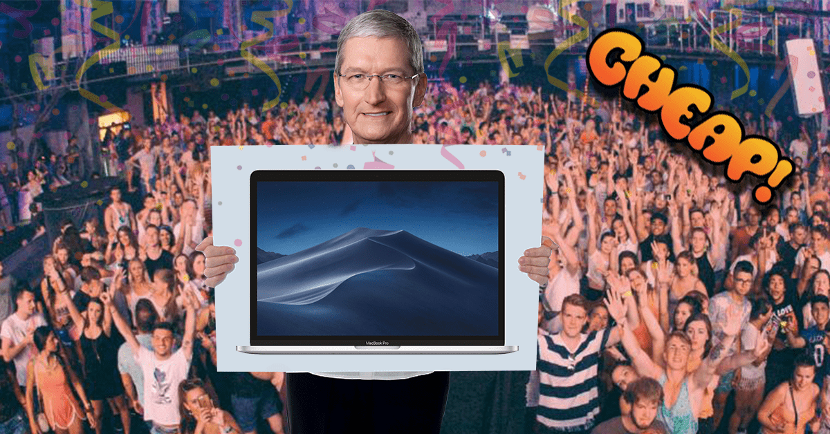 CHEAP: Scream at the sky, time's running out to save up to $250 on a MacBook