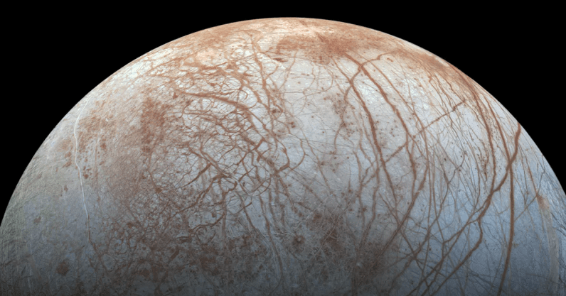 Scientists discovered table salt on Jupiter's moon, Europa