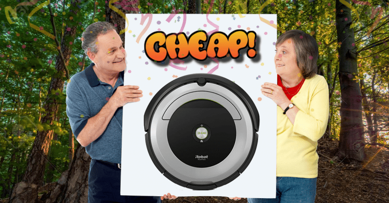 CHEAP: Spit in the face of cleaning with 20% off iRobot's Roomba 690 vacuum