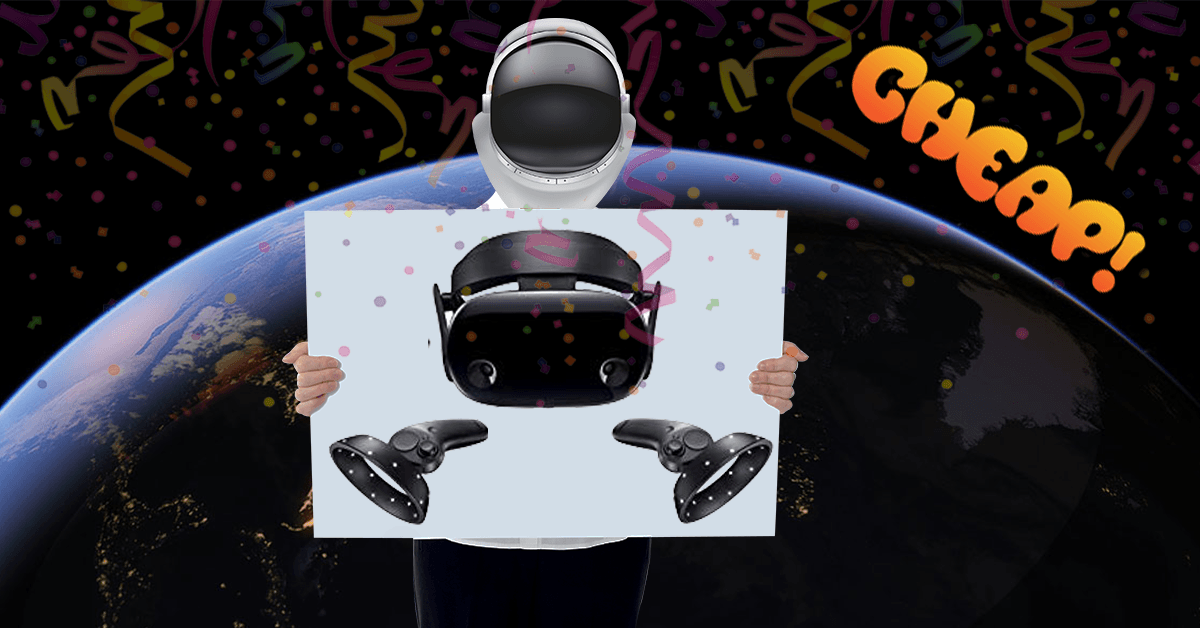 CHEAP: Suck it, reality — Samsung's Odyssey+ VR headset has $200 off