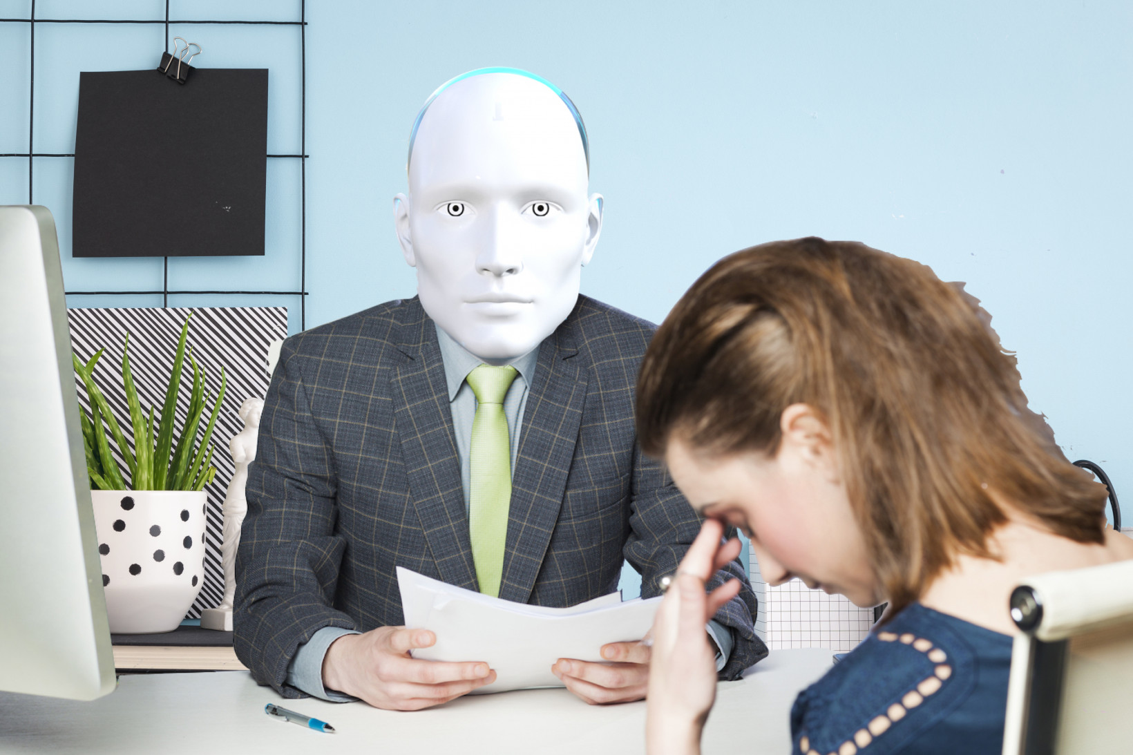 Robots reviewed my resume and they were not impressed