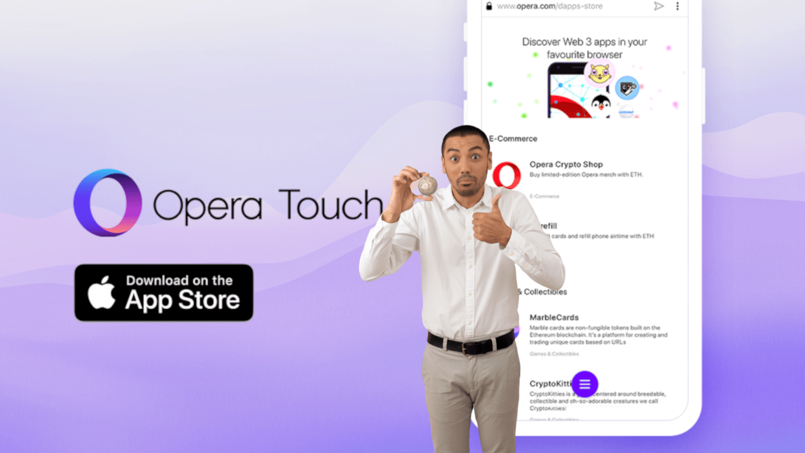 Opera officially launches its blockchain-ready browser for