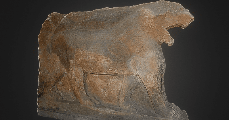 Google 3D-prints replica of historic Assyrian statue destroyed by ISIS in 2015