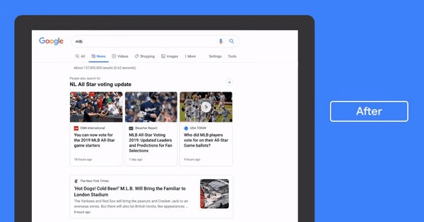 Google to update the News tab to emphasise on headlines