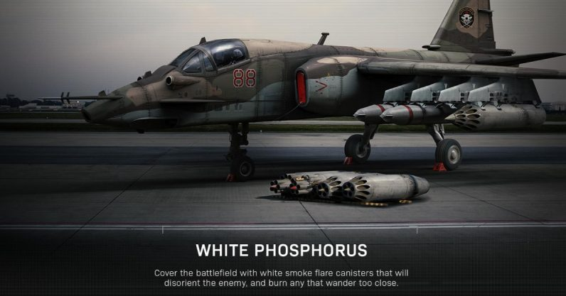 Some gamers think white phosphorus is too heinous for Call of Duty