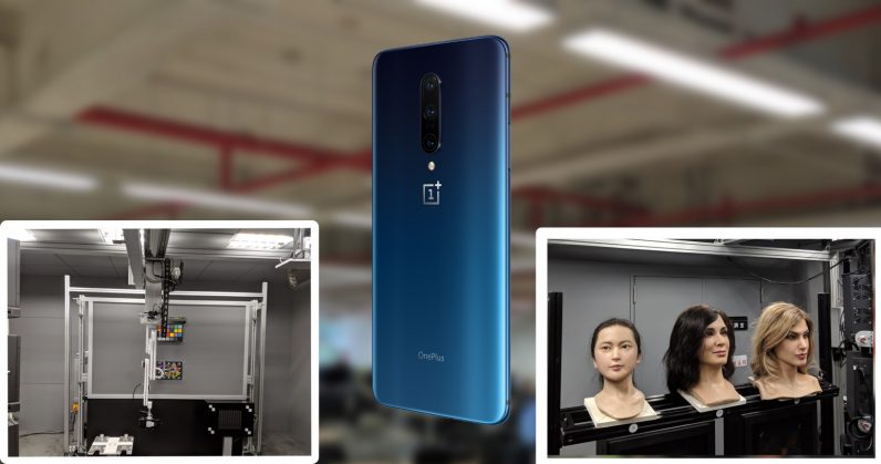 How OnePlus uses robotic hands, mannequin heads, and a tiny carnival ride to test its phone cameras