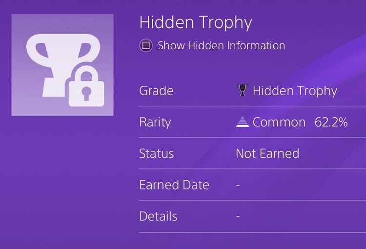 How to use the PlayStation 4's hidden trophy reveal (and
