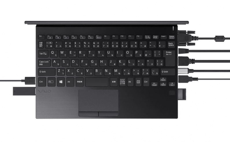 Vaio's SX12 proves small laptops can have all the ports