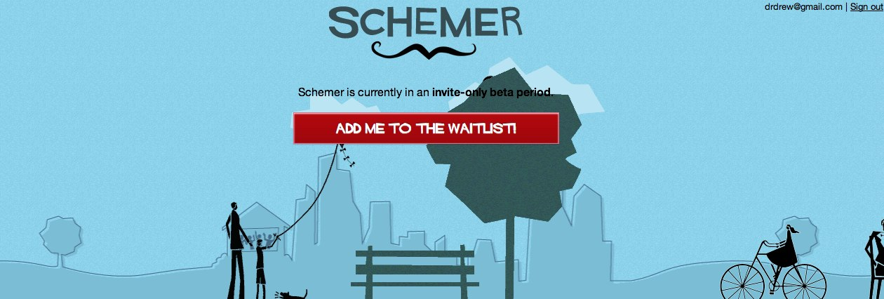 Google previously launched a hyperlocal networking app called Schemer back in 2011