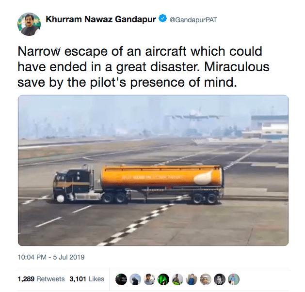 grand theft auto, gta, plane, pakistan