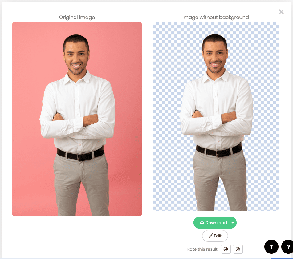 remove.bg, images, background, editing