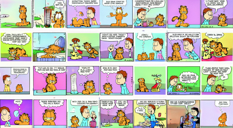 Hey look, AI ruined Garfield