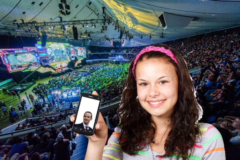 Over 3.5 billion people are on social media; Facebook still biggest with teens; Esports on the rise