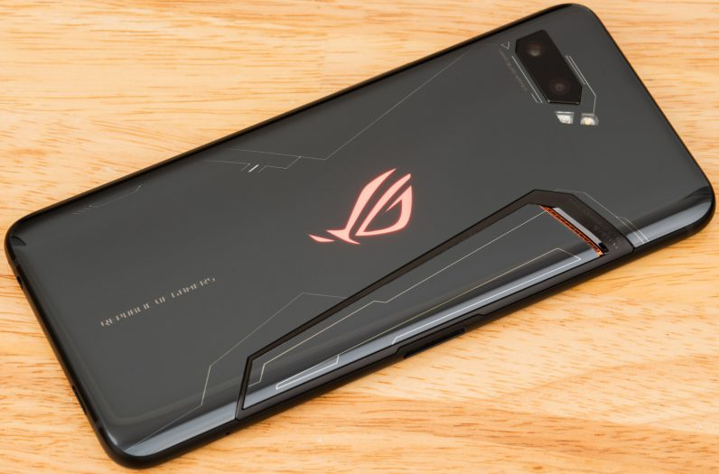 asus ROG phone 2 back view