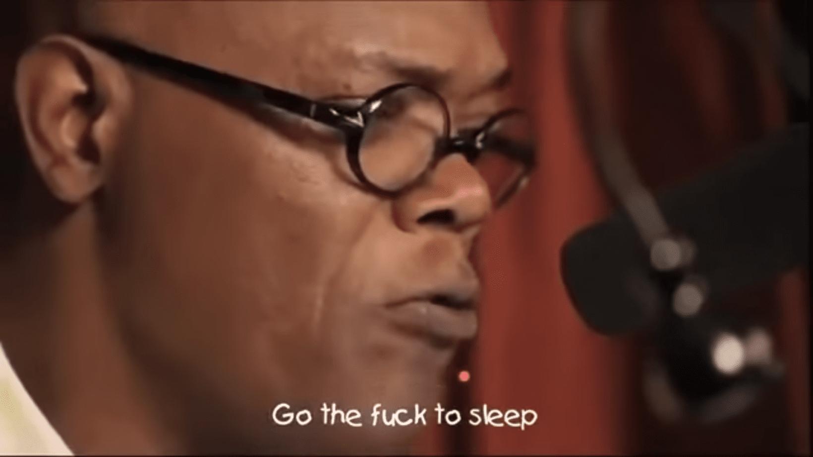 How to go the fuck to sleep