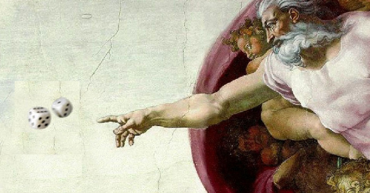 Quantum Darwinism may solve the question of whether God plays dice or not