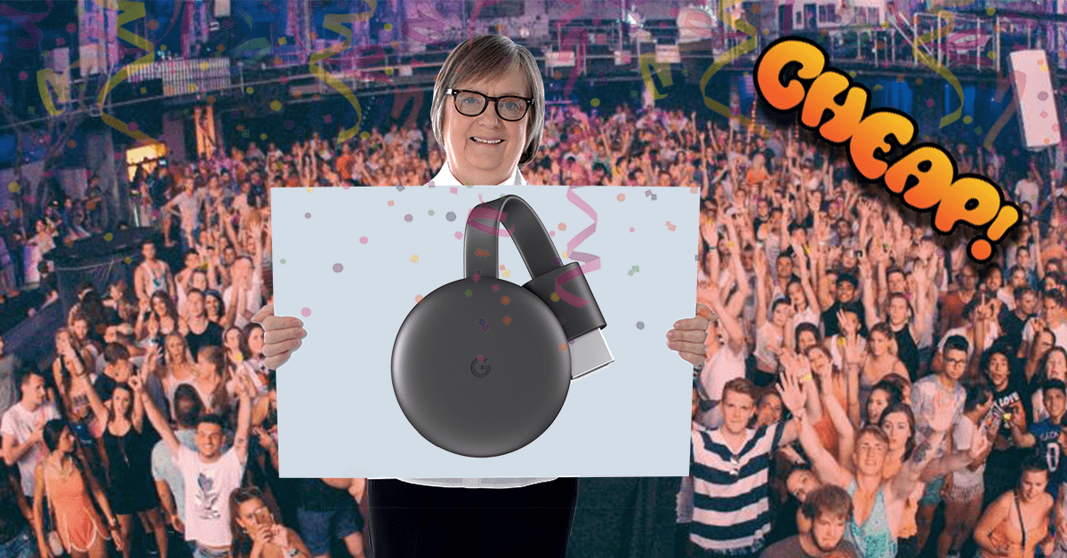 CHEAP: Stop reading, start buying — the latest Chromecast is only $25