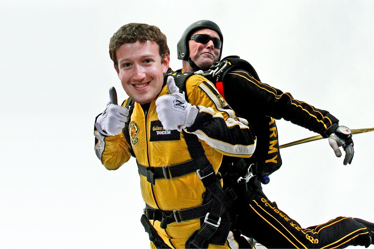 Mark Zuckerberg replaces ads with experiences